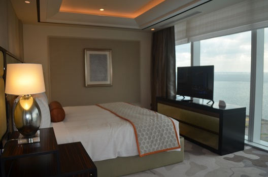 Suite 1 room with majestic view of Manila Bay