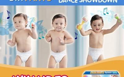 Huggies Dry Pants Dance Showdown Ad