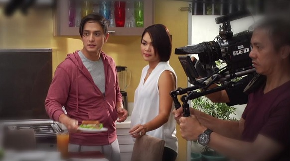 Power couple Ryan Agoncillo and Judy Ann Santos-Agoncillo during the shoot
