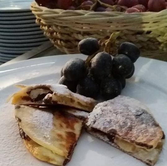 Fruit Quesadilla