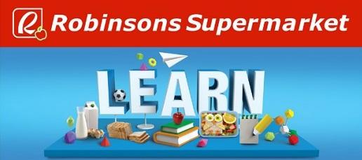 Robinsons Supermarket Learn Promo