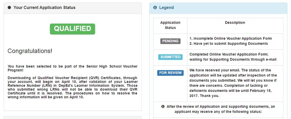 How to Apply for Senior High School Voucher Program | Mom's